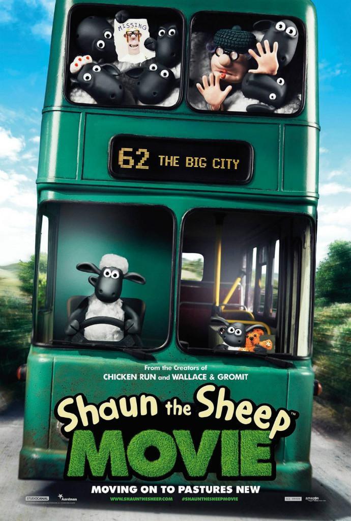 阿德曼动画工作室《小羊肖恩》(Shaun the Sheep)大电影首曝海报预告