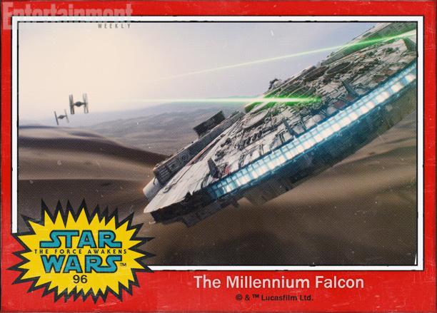 96:韩·索罗(哈里森·福特)那艘著名的千年隼飞船(The Millennium Falcon)