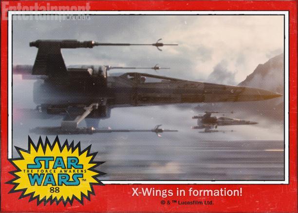"""88:反抗军的""""X翼战机""""(X-wings)"""