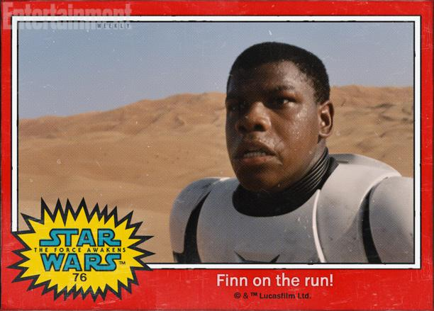 """76:逃亡的""""芬""""(Finn),约翰·博耶加(John Boyega)饰演,传闻称他是一名开小差的风暴士兵"""