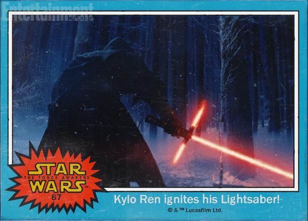 67:Kylo Ren和他备受吐槽的(其实也很酷的)十字光剑,这个角色是个反派,但是究竟是谁演的没说(可能是亚当·德莱弗)