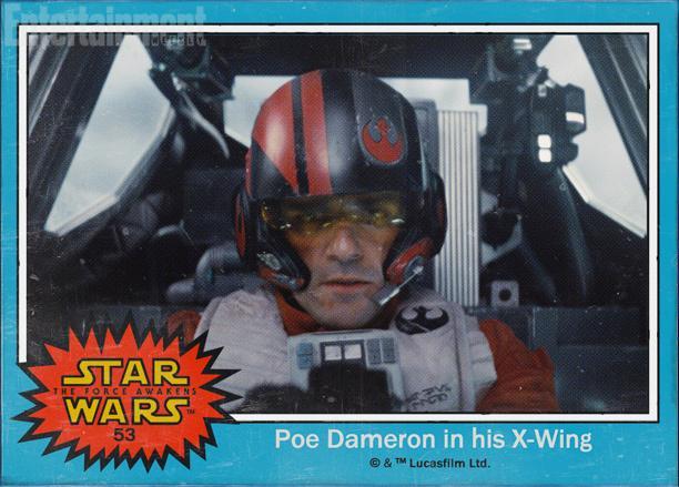 53:奥斯卡·艾萨克(Oscar Isaac)饰演的X翼战机飞行员Poe Dameron,他的出现证明银河帝国结束后,反抗军并没有解散