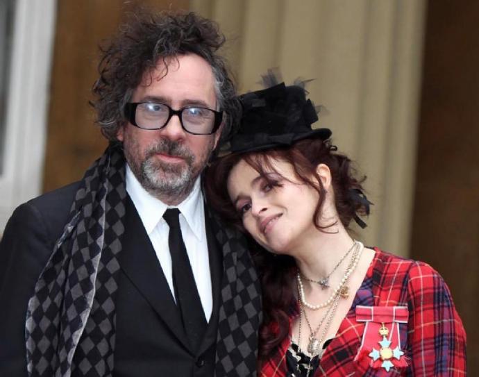 海伦娜·伯翰·卡特(Helena Bonham Carter)与蒂姆·波顿(Tim Burton)分手 13年恋情走向尽头