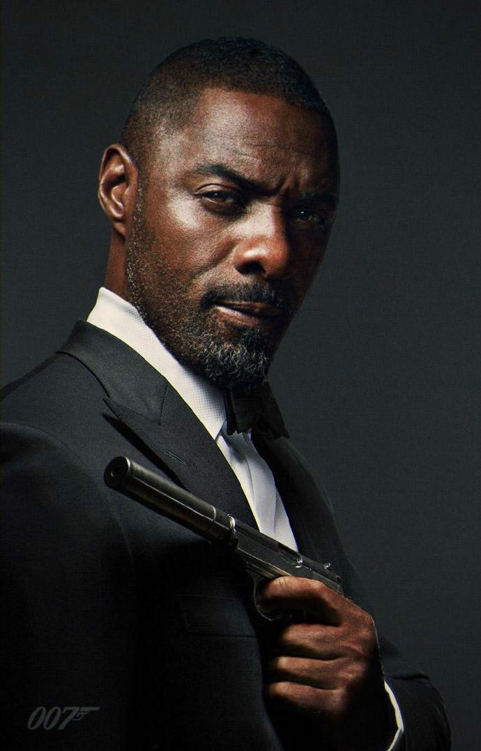 神PS! 伊德瑞斯·艾尔巴(Idris Elba)版邦德