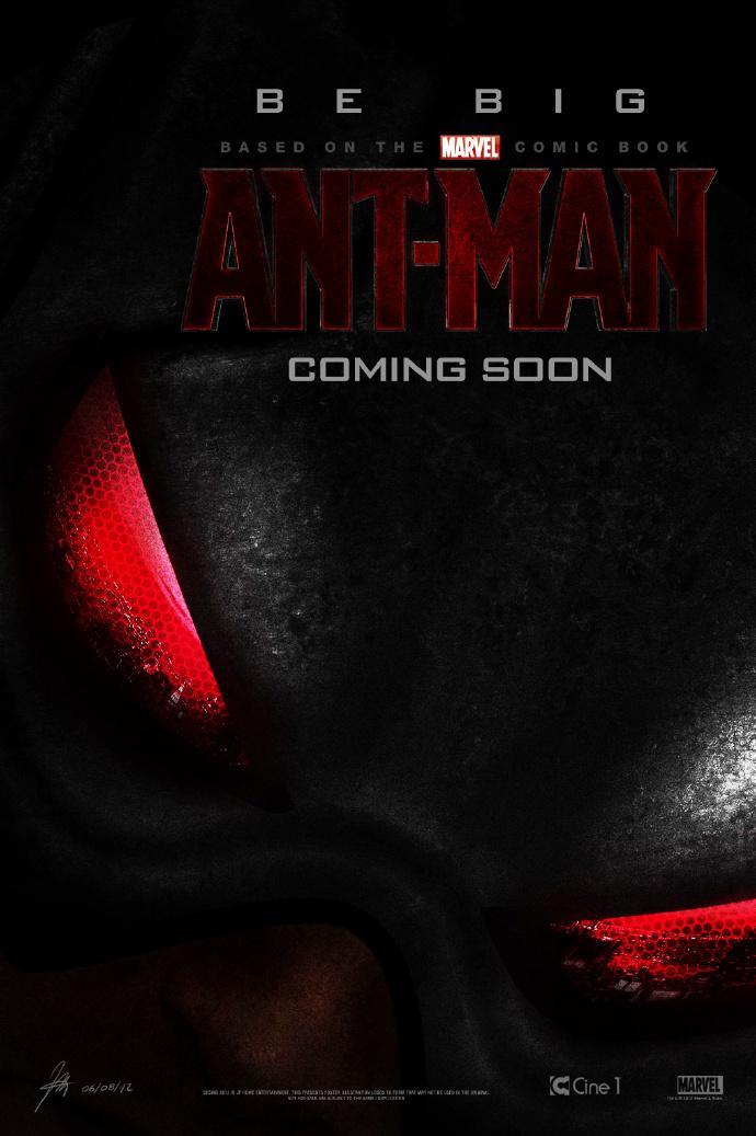 """《蚁人》(Ant-Man)发""""蚂蚁尺寸""""预告预览 首款预告1月6日贴《特工卡特》播出"""