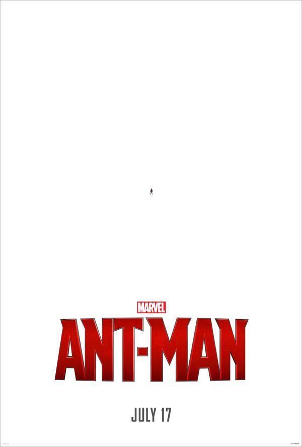 《蚁人》首款海报亮造型 逗比风格依旧 保罗路德身着战服登场