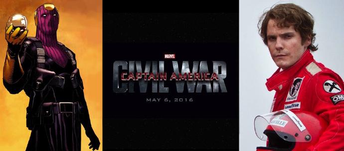 《美国队长3》反派角色曝光 《极速风流》男星丹尼尔布鲁赫或演泽莫男爵