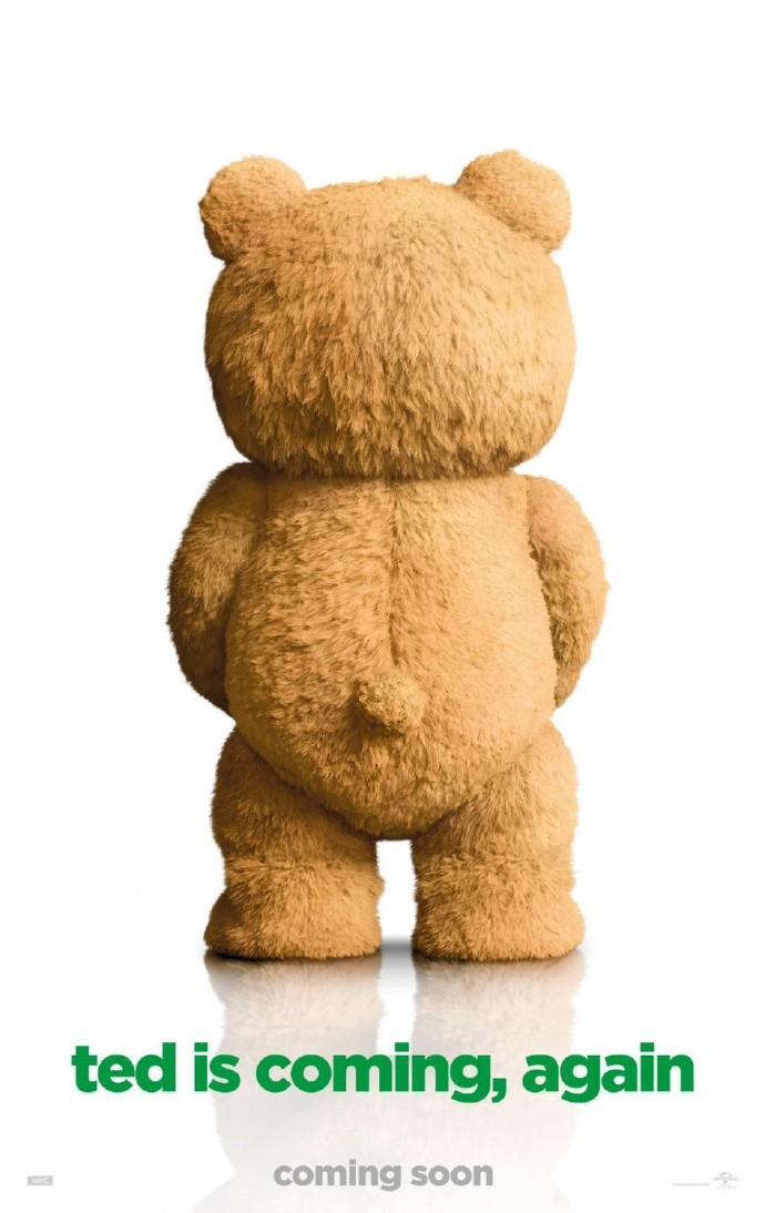 《泰迪熊2》首曝预告 沃尔伯格与满口脏话泰迪卷土重来