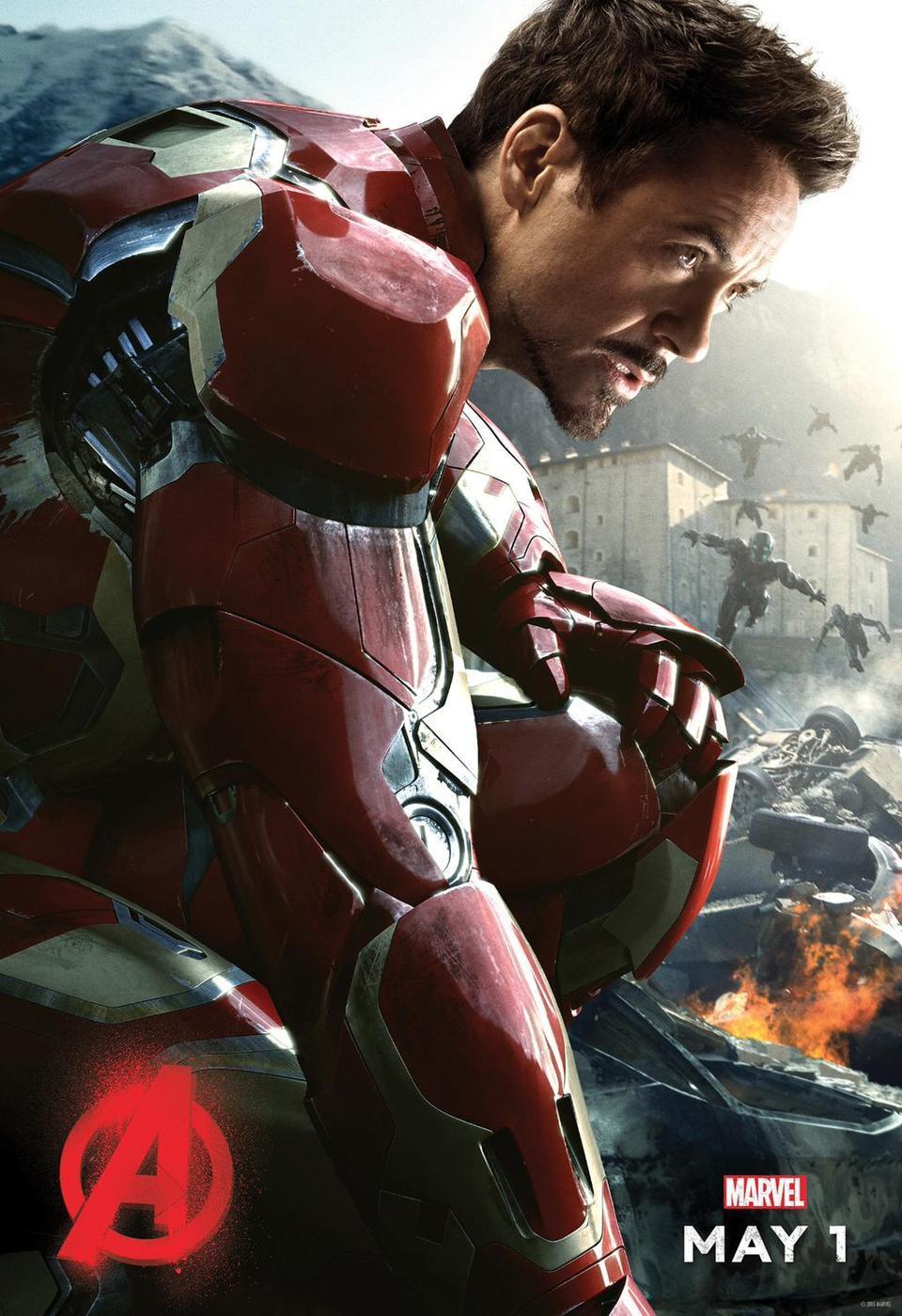 《复仇者联盟2:奥创纪元》角色海报来袭 绿巨人浩克亮相