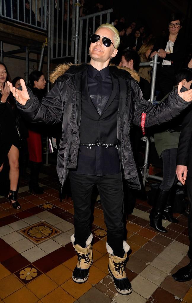 """杰瑞德·莱托(Jared Leto)短发新造型首曝光  """"小丑""""气质爆棚"""