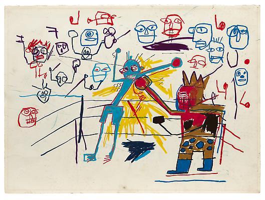 Jean-Michel Basquiat 《无题》1981