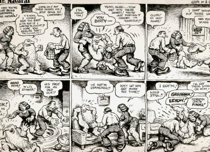 Robert Crumb漫画《自然先生》1976
