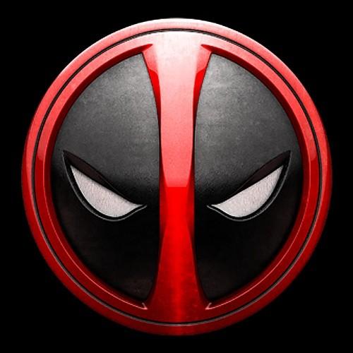 《死侍》电影官方logo。