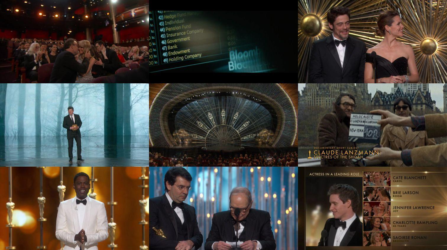 2016第88届奥斯卡(Annual Academy Awards)颁奖典礼 【生肉】