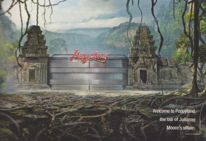 """《王牌特工2》定名""""黄金圈"""" 概念图首曝光 哈莉贝瑞指挥部露真容-女反派朱丽安·摩尔的""""巢穴""""。"""