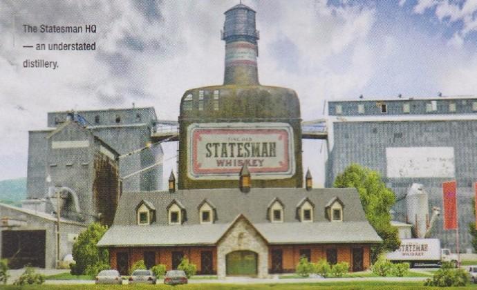 """《王牌特工2》定名""""黄金圈"""" 概念图首曝光 哈莉贝瑞指挥部露真容- 哈莉·贝瑞地下组织的指挥部,佯装成酿酒厂。"""