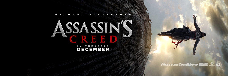 '法鲨'迈克尔·法斯宾德《刺客信条》(Assassin's Creed)曝首款预告&海报