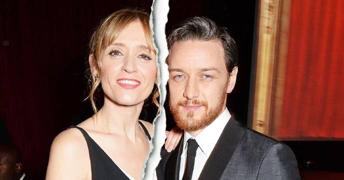 詹姆斯·麦卡沃伊宣布离婚 与安-玛莉·杜芙结束9年婚姻