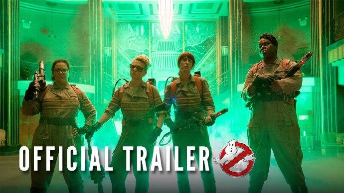 """《超能敢死队》(Ghostbusters)曝光新预告 幽灵鬼魂大举登场 """"锤哥""""惨遭附体"""