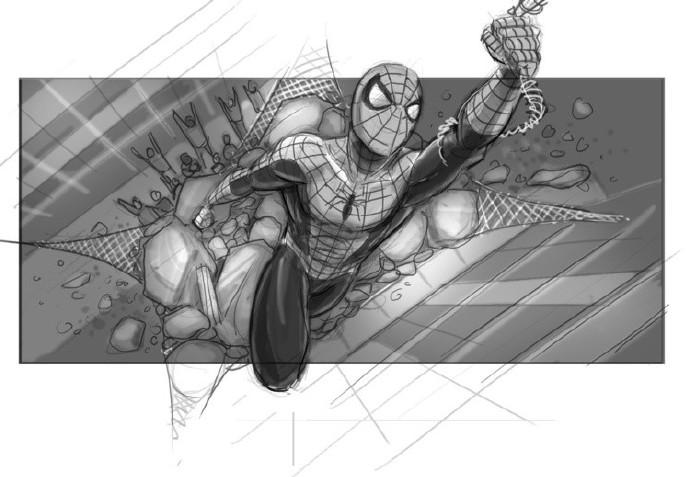 蜘蛛侠:别跑!(设计台词)