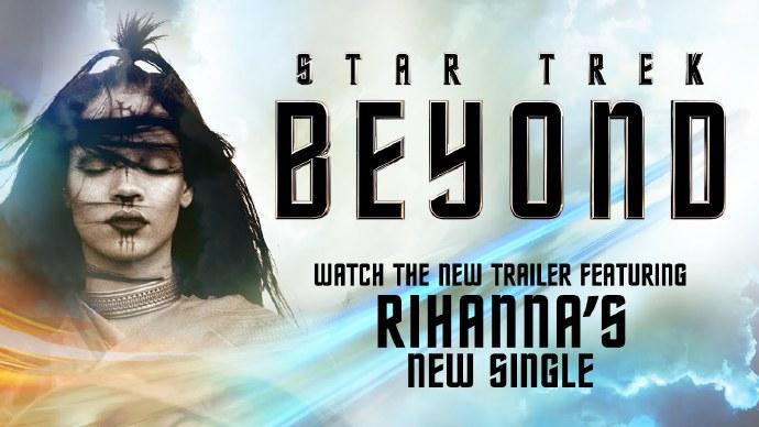 """蕾阿娜(Rihanna)献唱 《星际迷航:超越边界》""""Sledgehammer"""" 全程IMAX拍摄"""