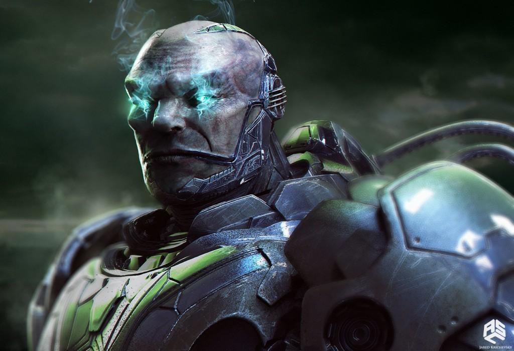 《X战警:天启》曝光天启被弃造型 蓝色火焰喷出双眼 金属盔甲配透明头罩