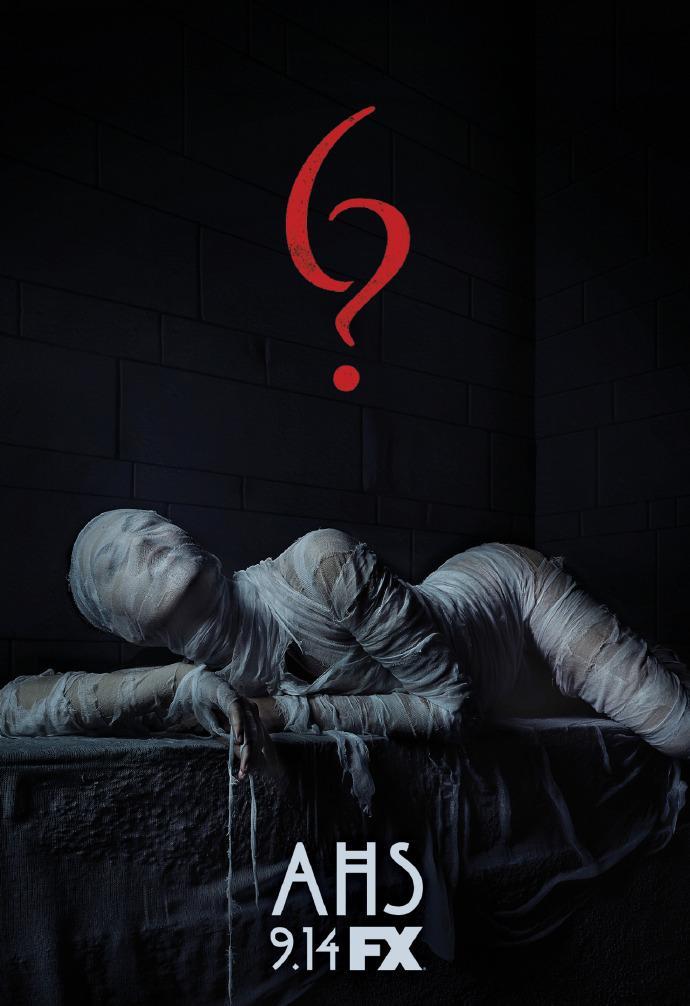 《美国恐怖故事》第六季又曝新海报预告 牛头人身怪恐怖怪异 可能为剧中大反派