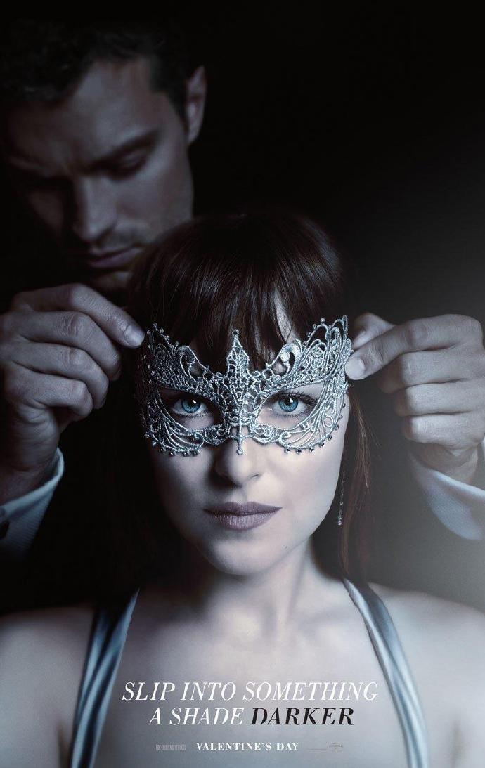《五十度黑》(Fifty Shades Darker)首款预告片发布 格雷&斯蒂尔虐恋升级