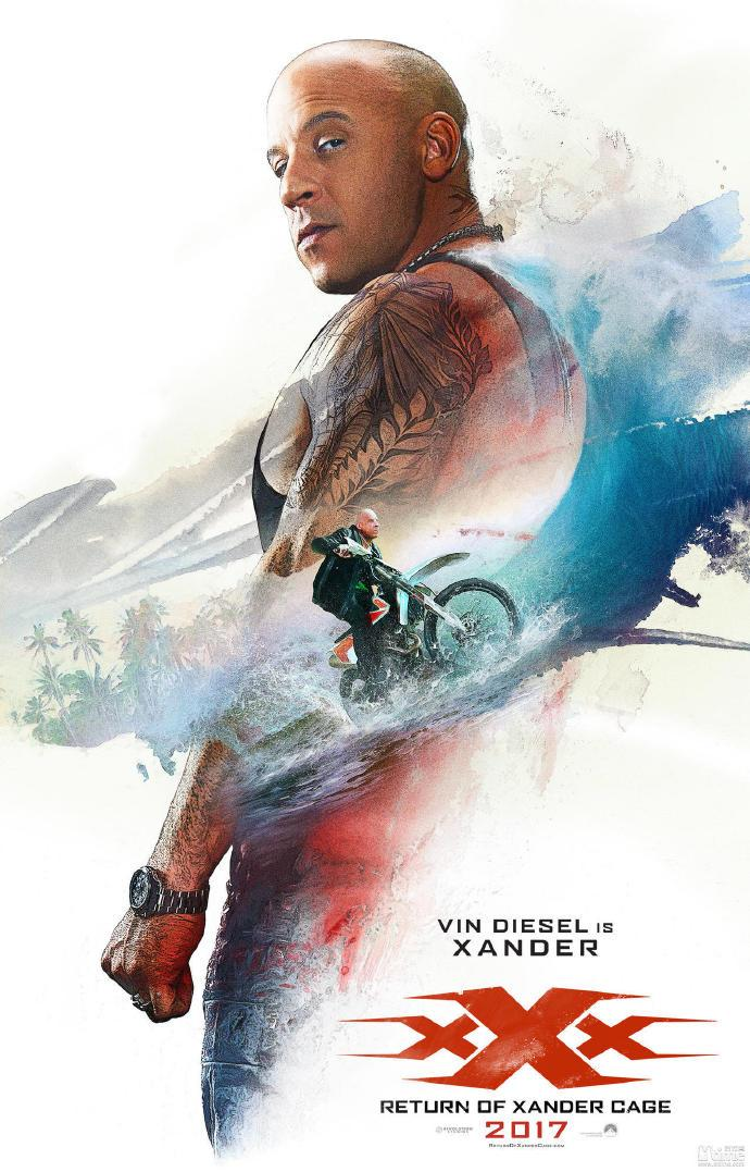 《极限特工3》发布中文终极预告 范迪塞尔对阵甄子丹