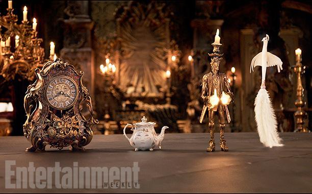EW曝光迪士尼真人版《美女与野兽》(Beauty and the Beast)剧照