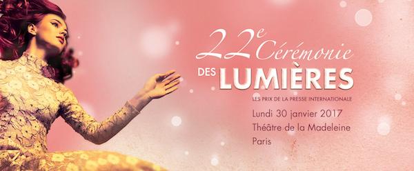 """第22届""""法国金球""""卢米埃尔奖(Prix Lumières)公布提名"""