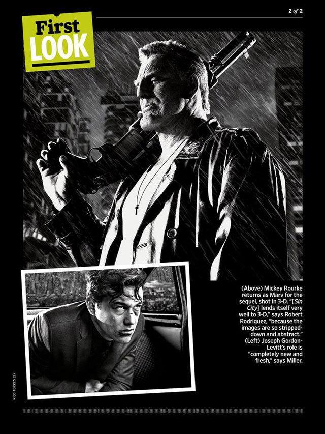 《罪恶城市2:蛇蝎美人》新照发布 约瑟夫·高登造型曝光