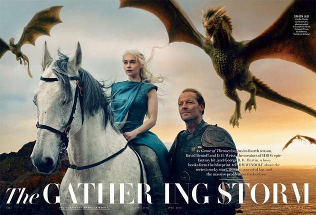 乔治·R·R·马丁:《权力的游戏》(Game of Thrones)或将以电影收尾