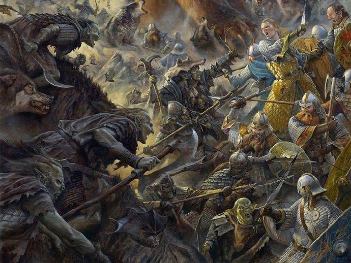 《霍比特人3:去而复返》更名为《五军之战》(The Battle of the Five Armies)