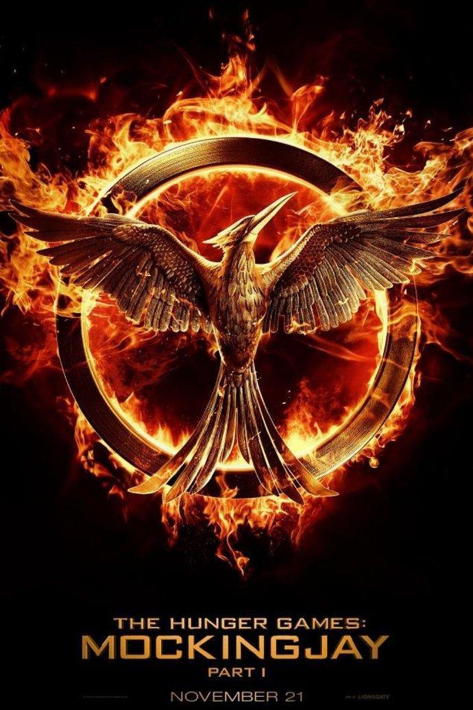 《饥饿游戏:嘲笑鸟上》(The Hunger Games: Mockingjay)动态海报