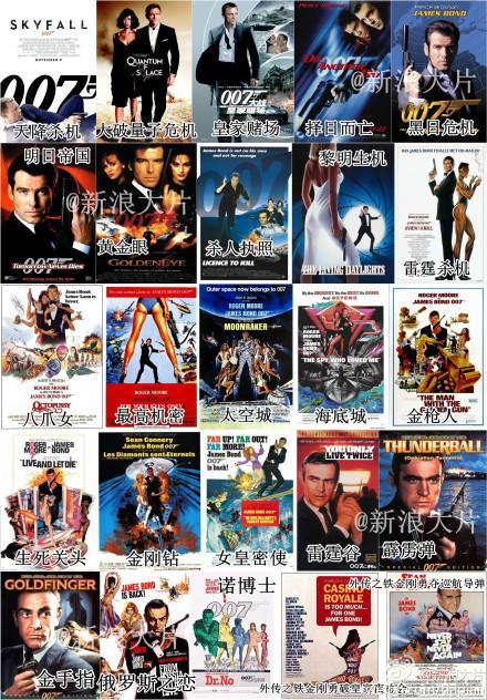007全系列电影超混剪 50大惊心动魄场面