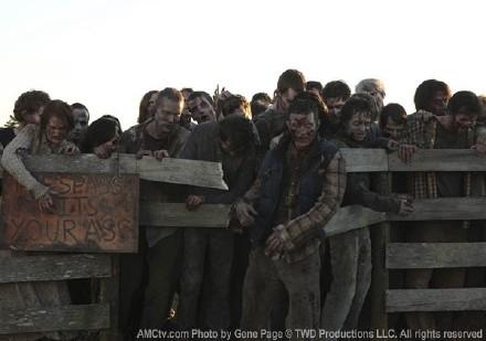 《行尸走肉》(The Walking Dead)第二季 僵尸特效解说