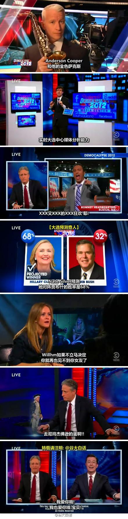囧司徒每日秀 2012.11.06 每日秀大选特别直播节目【整集制作!!】