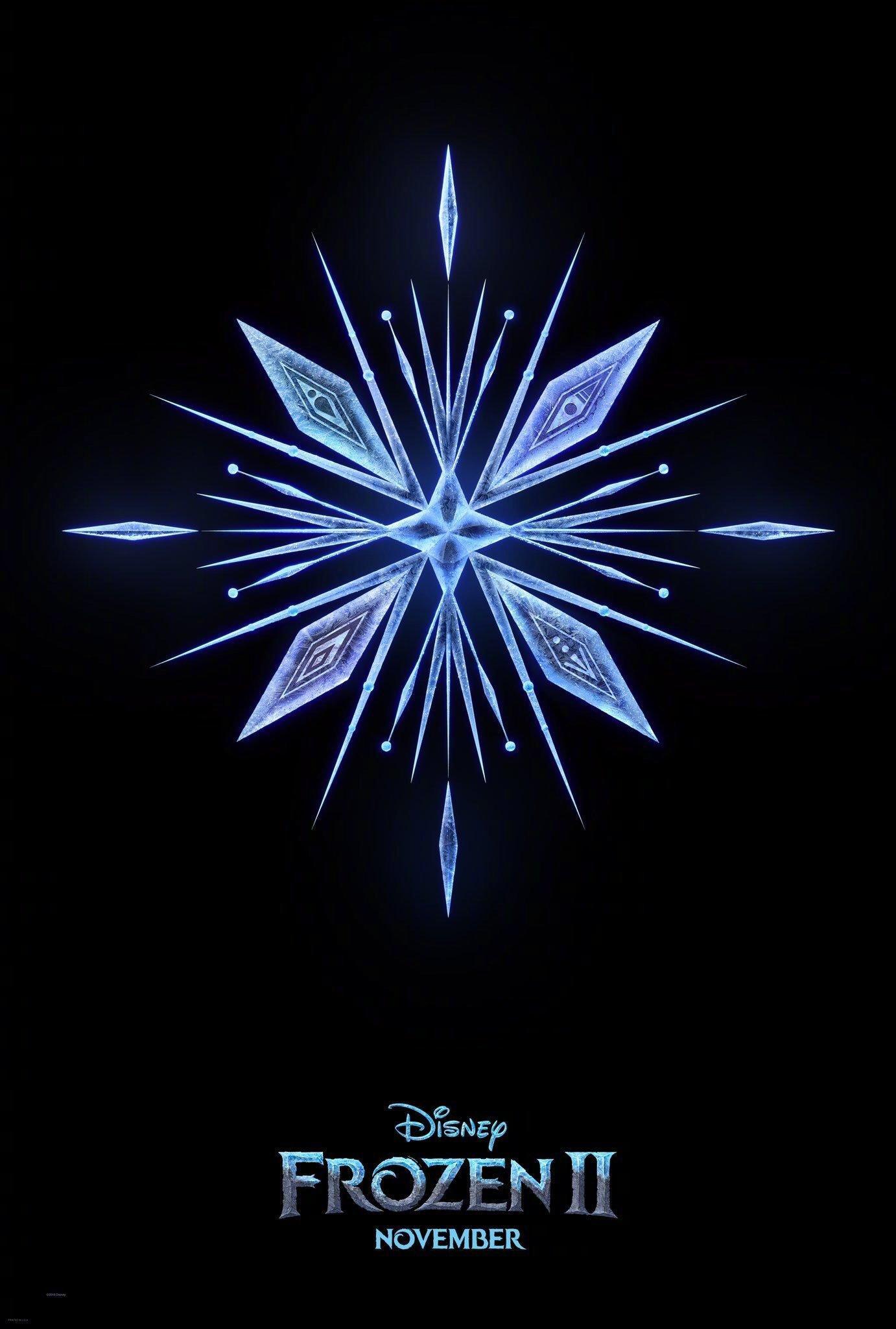 《冰雪奇缘2》发布先导海报及预告