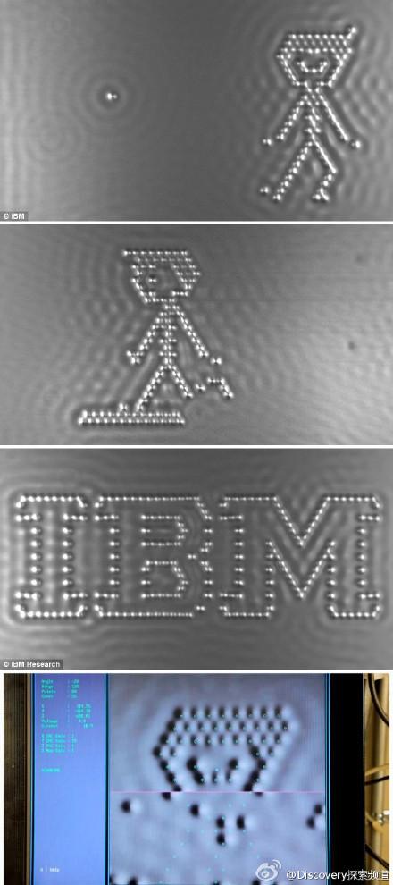 世界上最小的电影《一个男孩和他的原子》(IBM研究院出品)