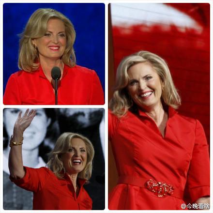 安·罗姆尼(Ann Romney)在共和党大会上力挺丈夫米特·罗姆尼的演讲视频