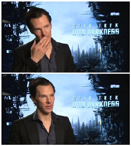 本尼迪克特·康伯巴奇(Benedict Cumberbatch)接受采访大谈对Star Trek的感受